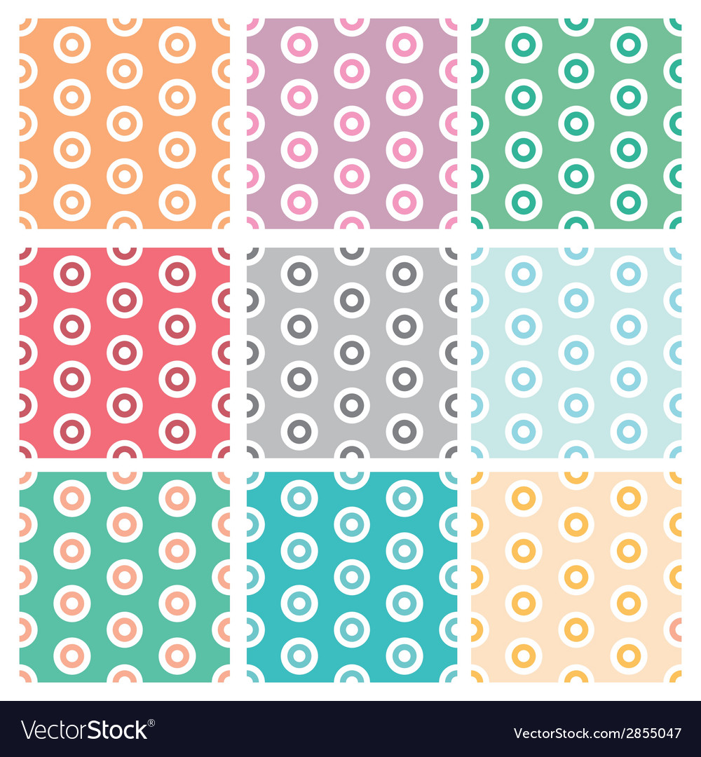Abstract retro vector image