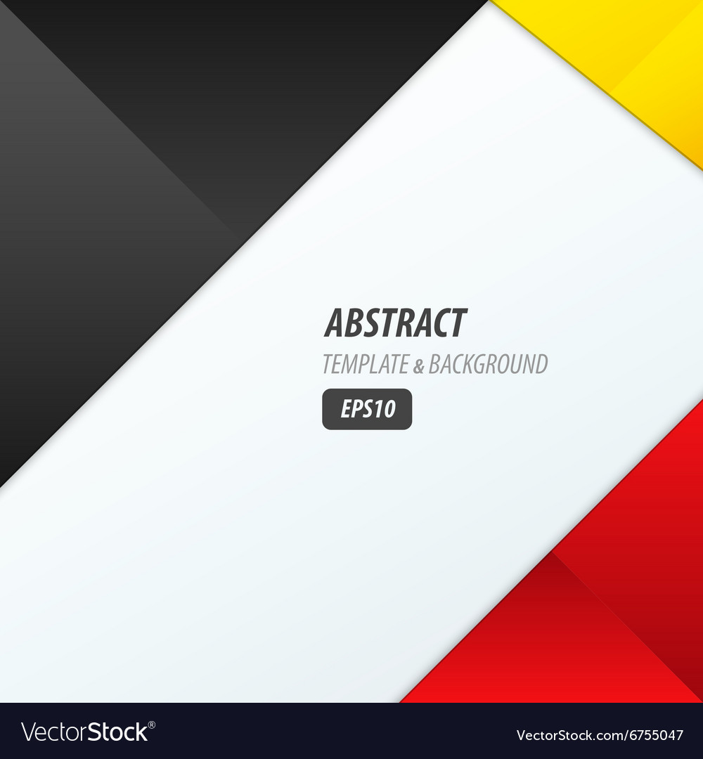 Background Dimension Modern Black Red Yellow