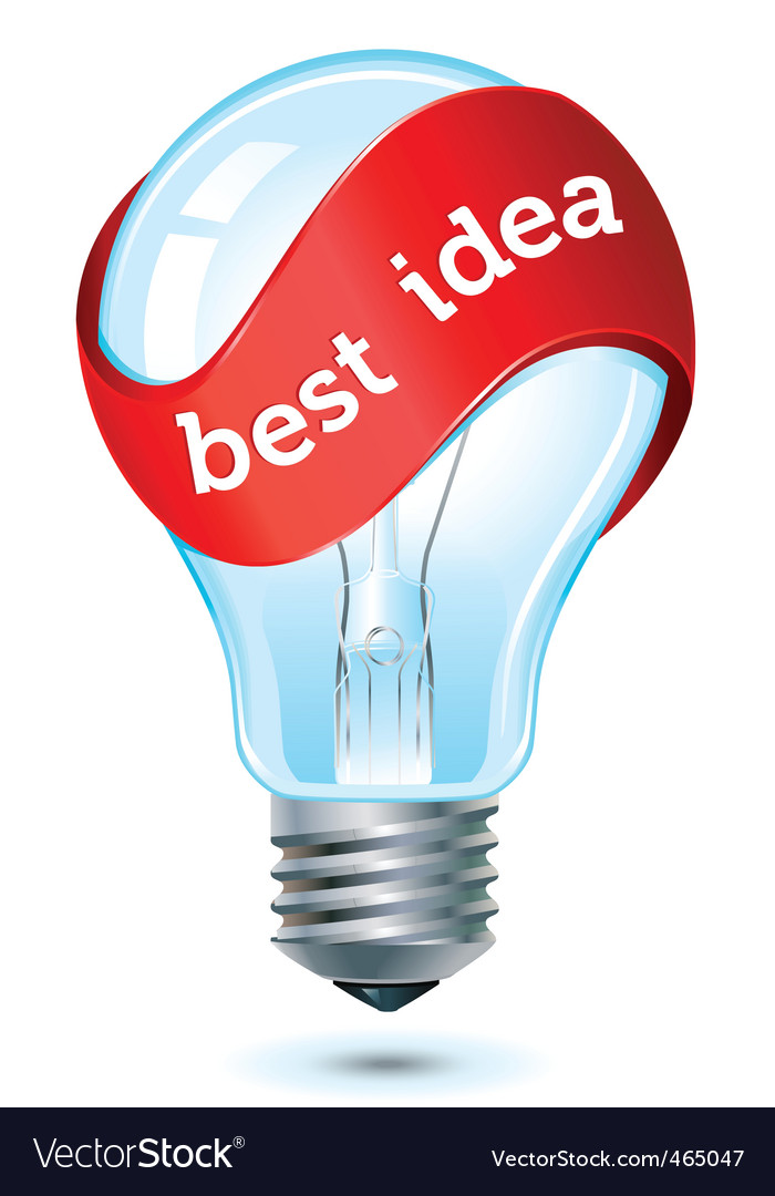 Best idea icon vector image