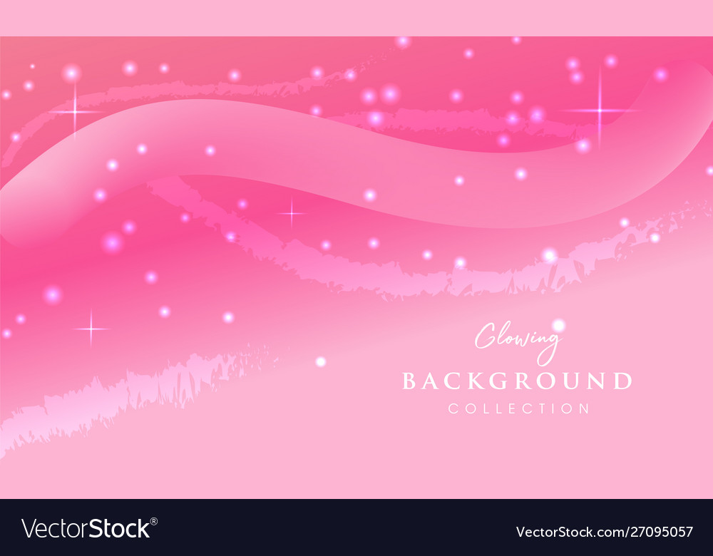 Pink glowing abstract background design