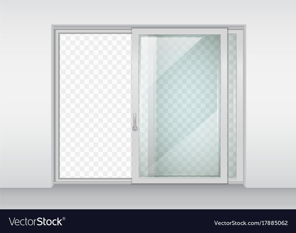 Contemporary Sliding Door Royalty Free Vector Image