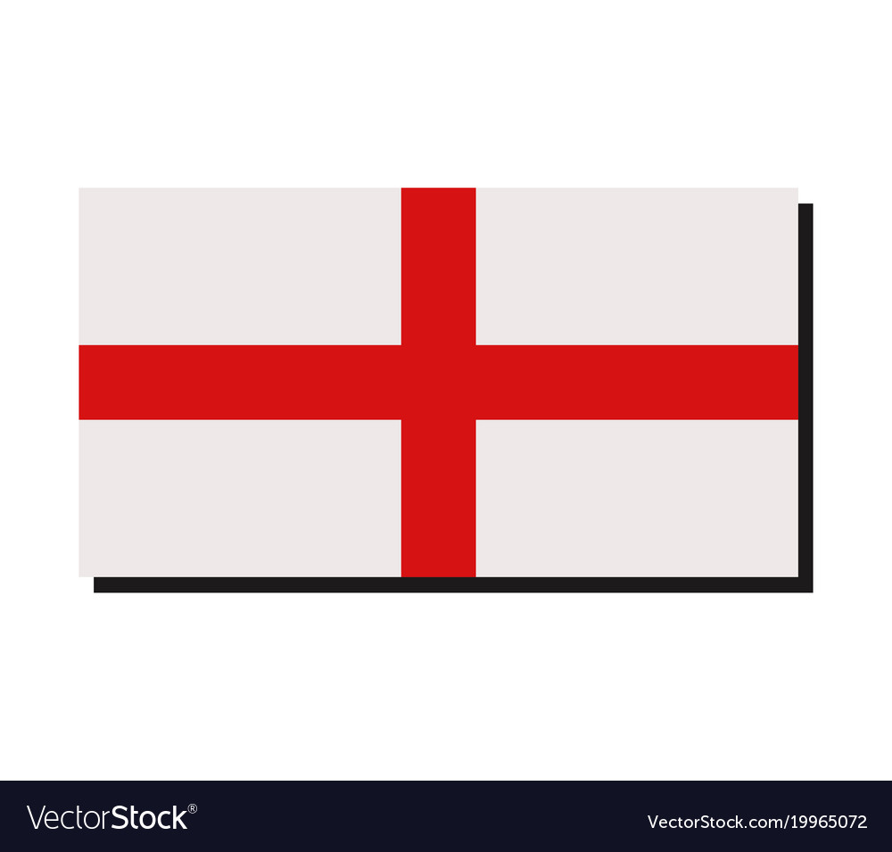 Flag England Royalty Free Vector Image Vectorstock