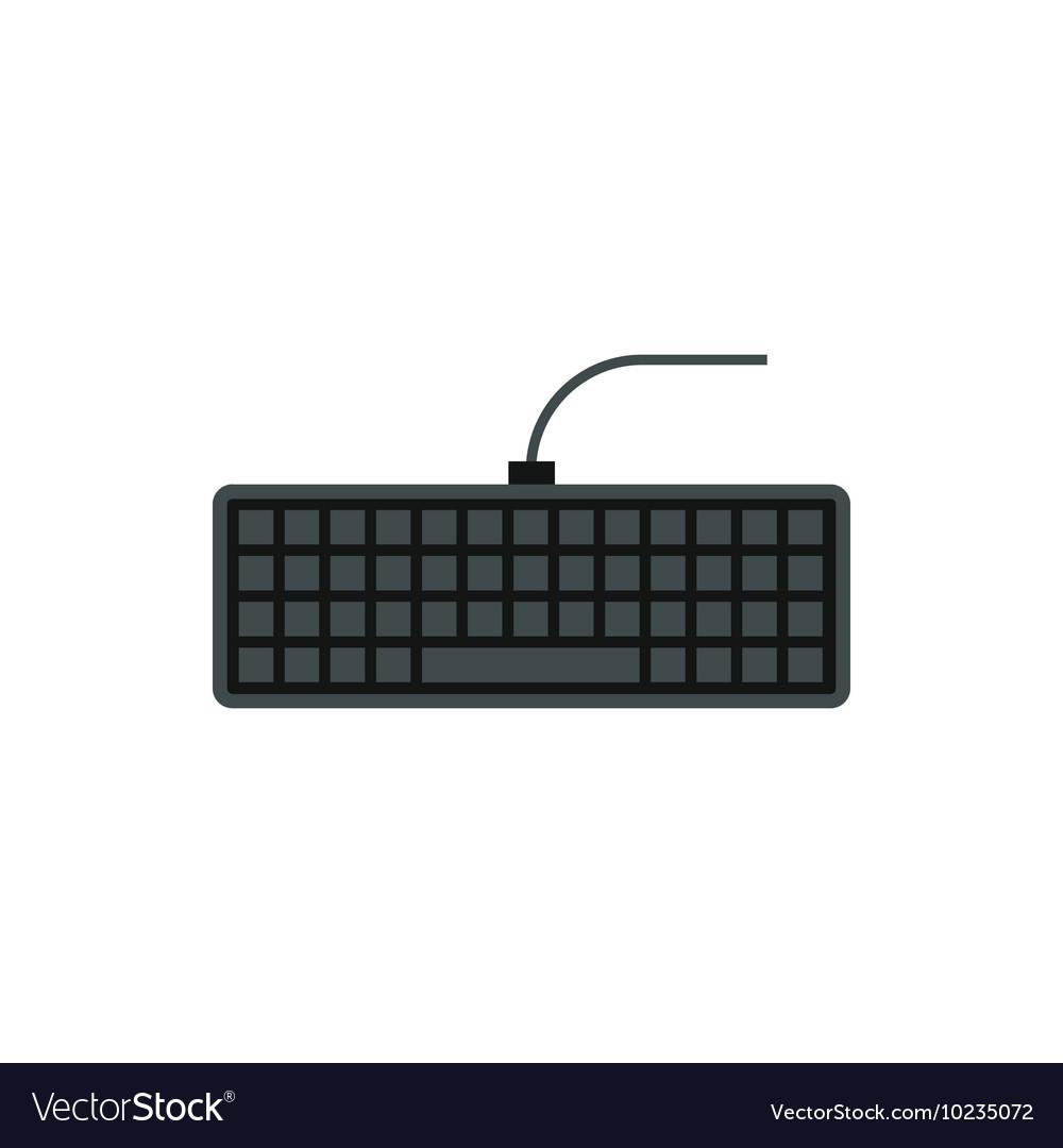 Keyboard icon flat style