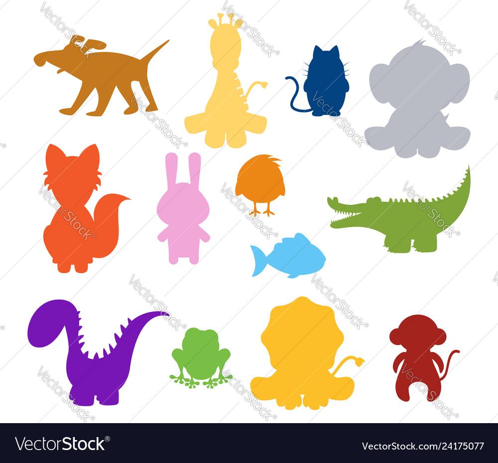 Basilhouette animals