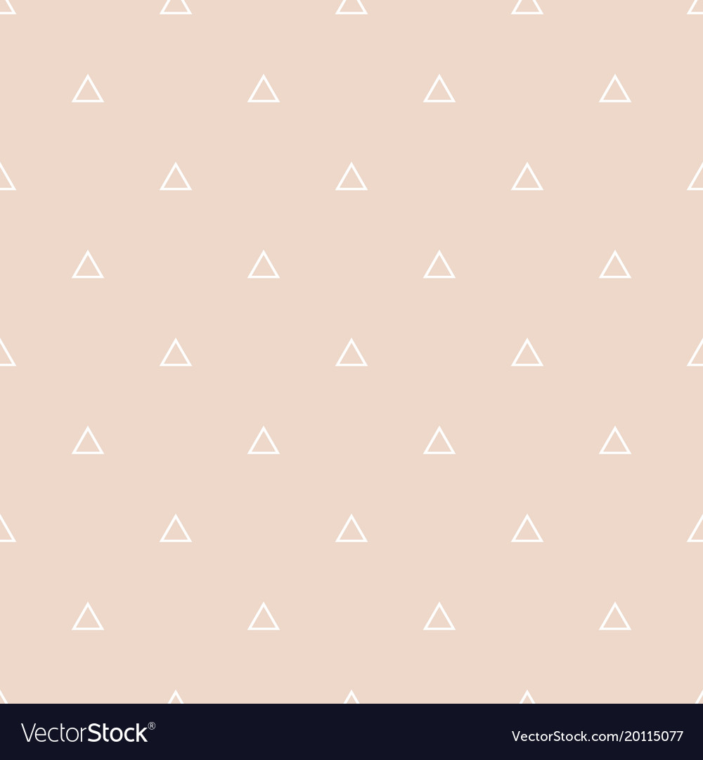 Tile pattern with white triangles on pastel