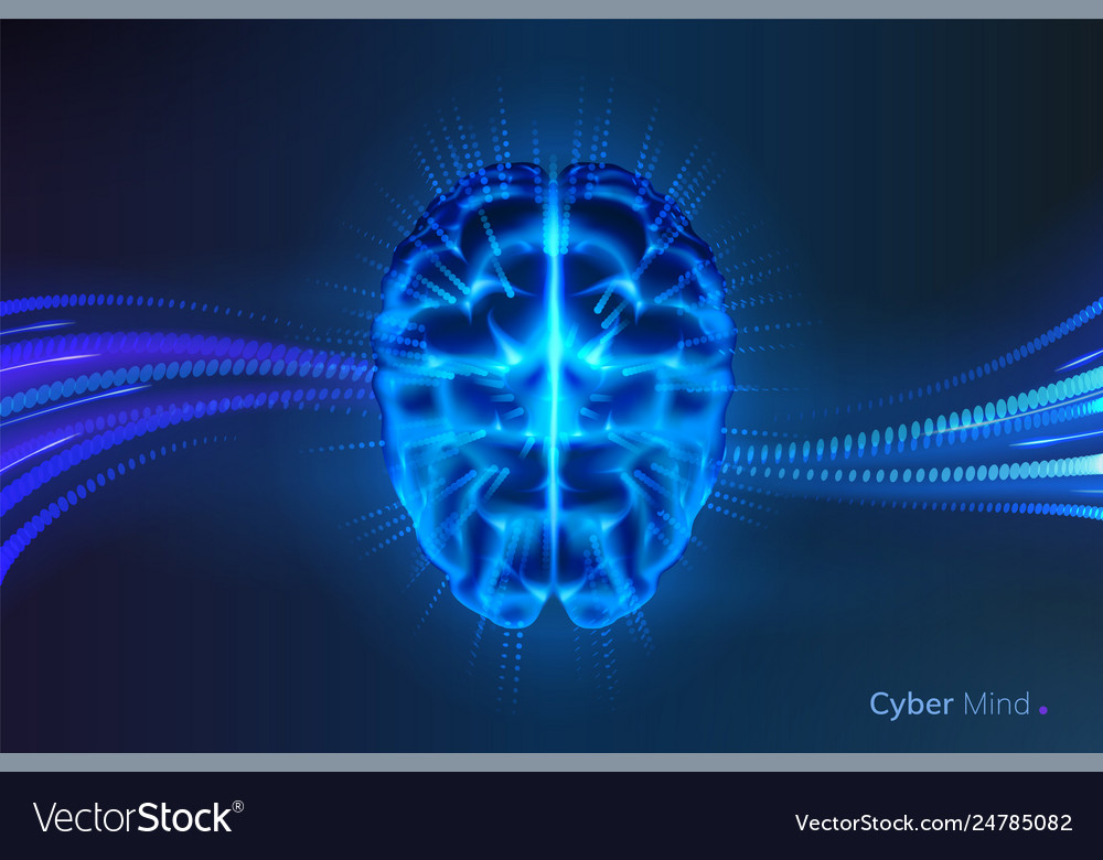 Cyber mind or artificial intelligence brain