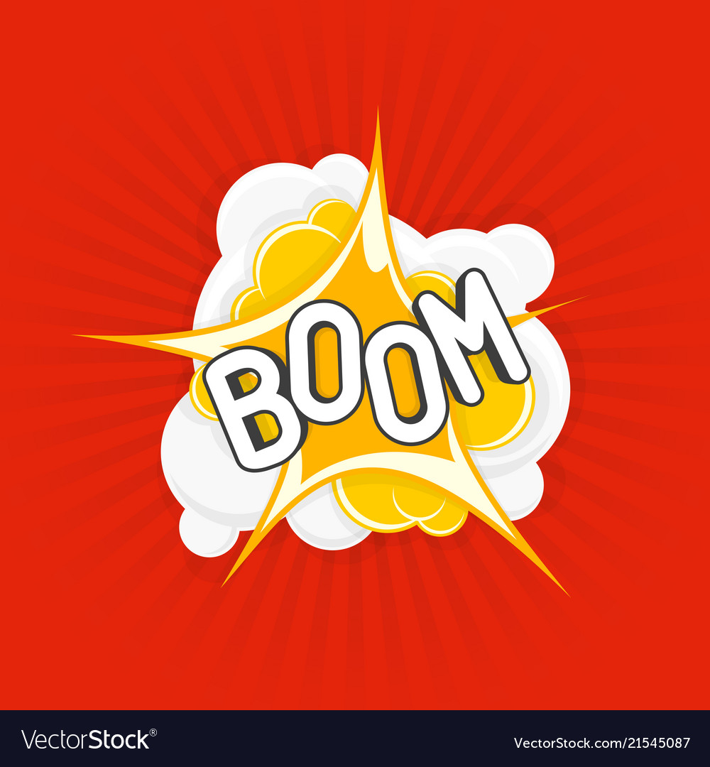 Boom comic explosions