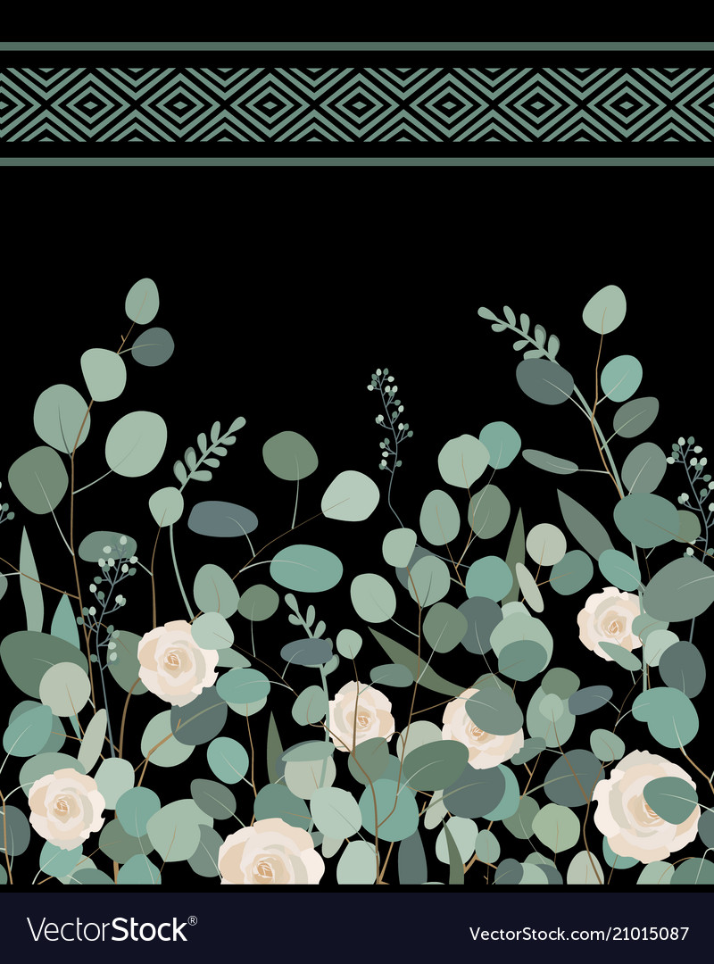 Elegant seamless pattern with silver dollar
