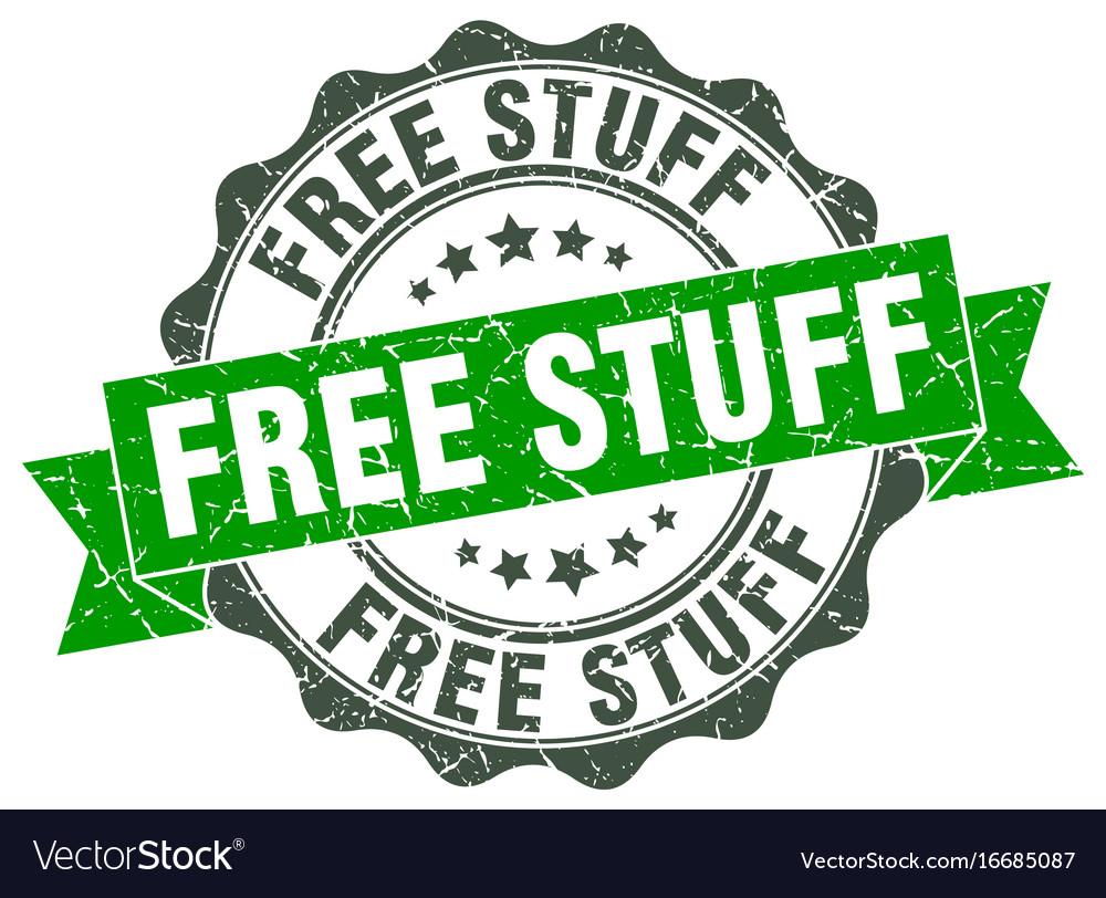 Free stuff stamp sign seal