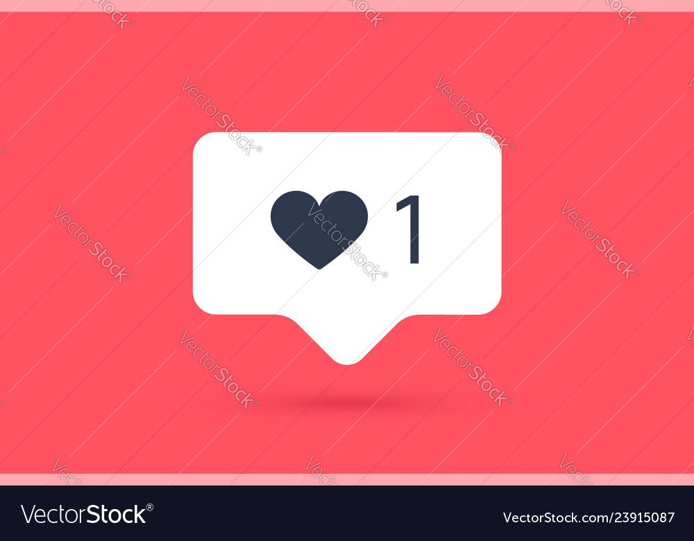 Notifications icon like speech bubble like icon