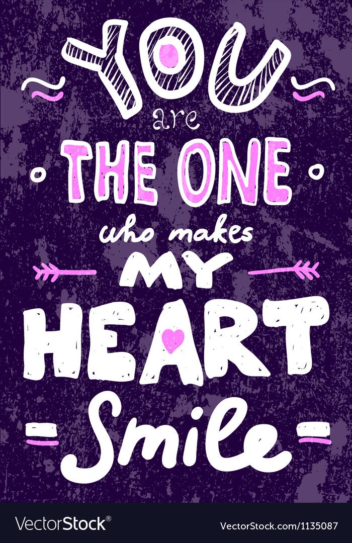 Saint Valentines typography