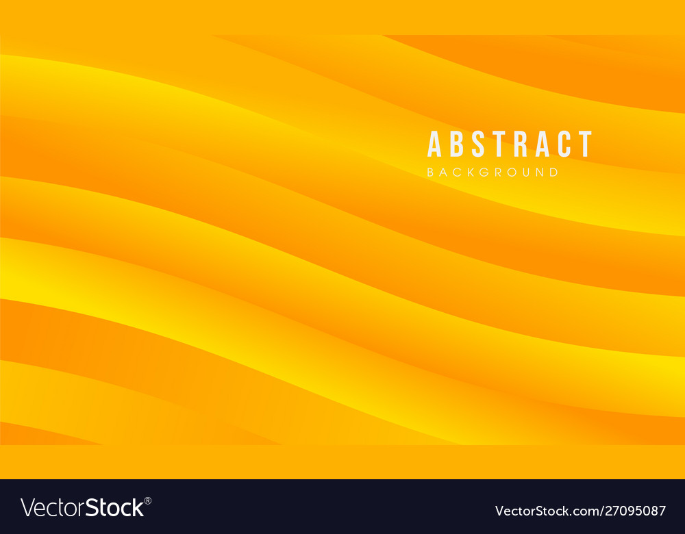 Yellow abstract modern background