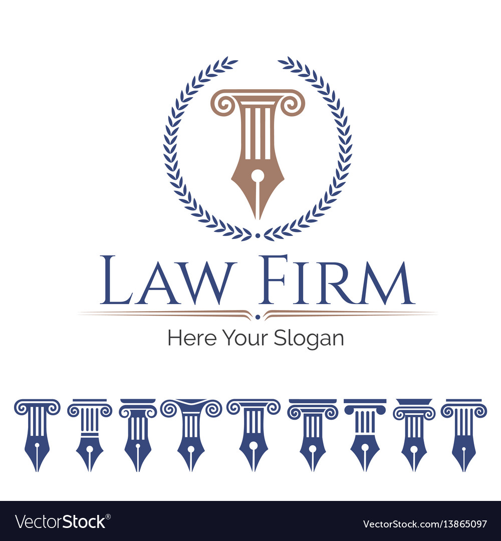 Law firm and column set