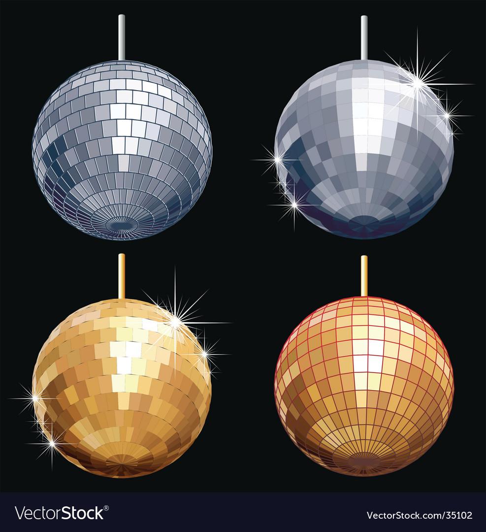 Disco-ball set