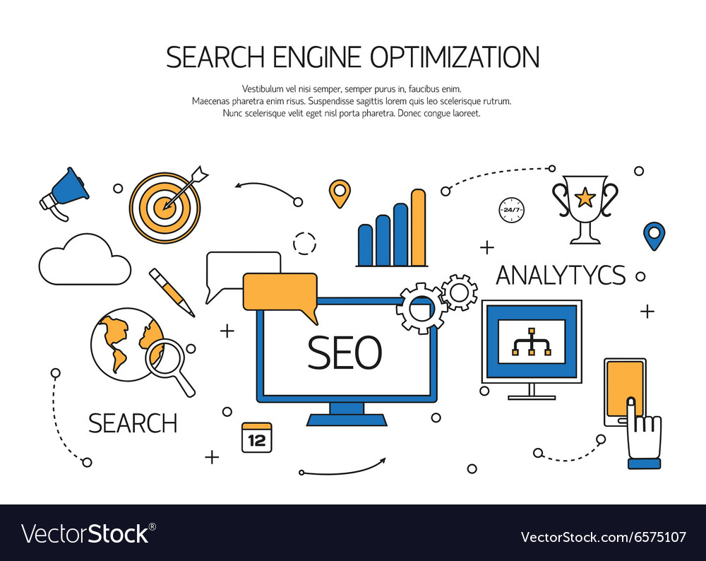 Search engine optimization technology outline