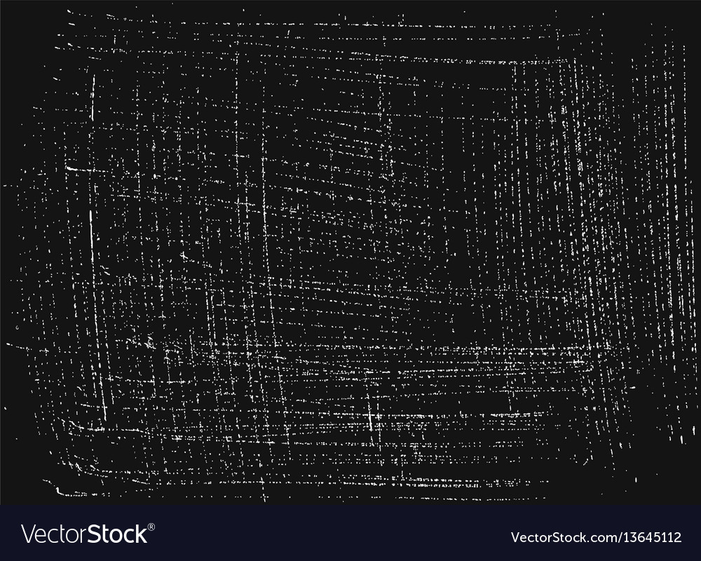 Grunge white on black abstract background vector image