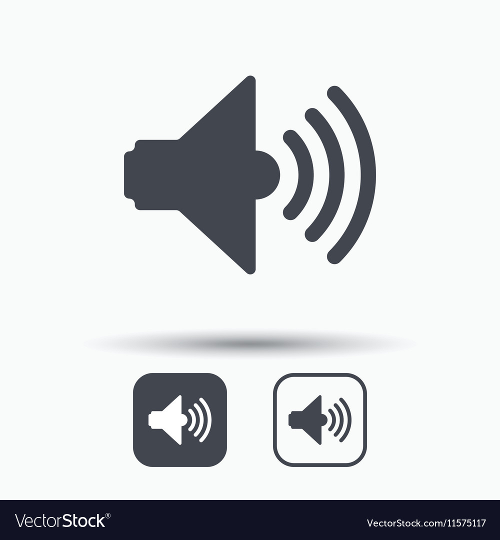 Sound icon music dynamic sign