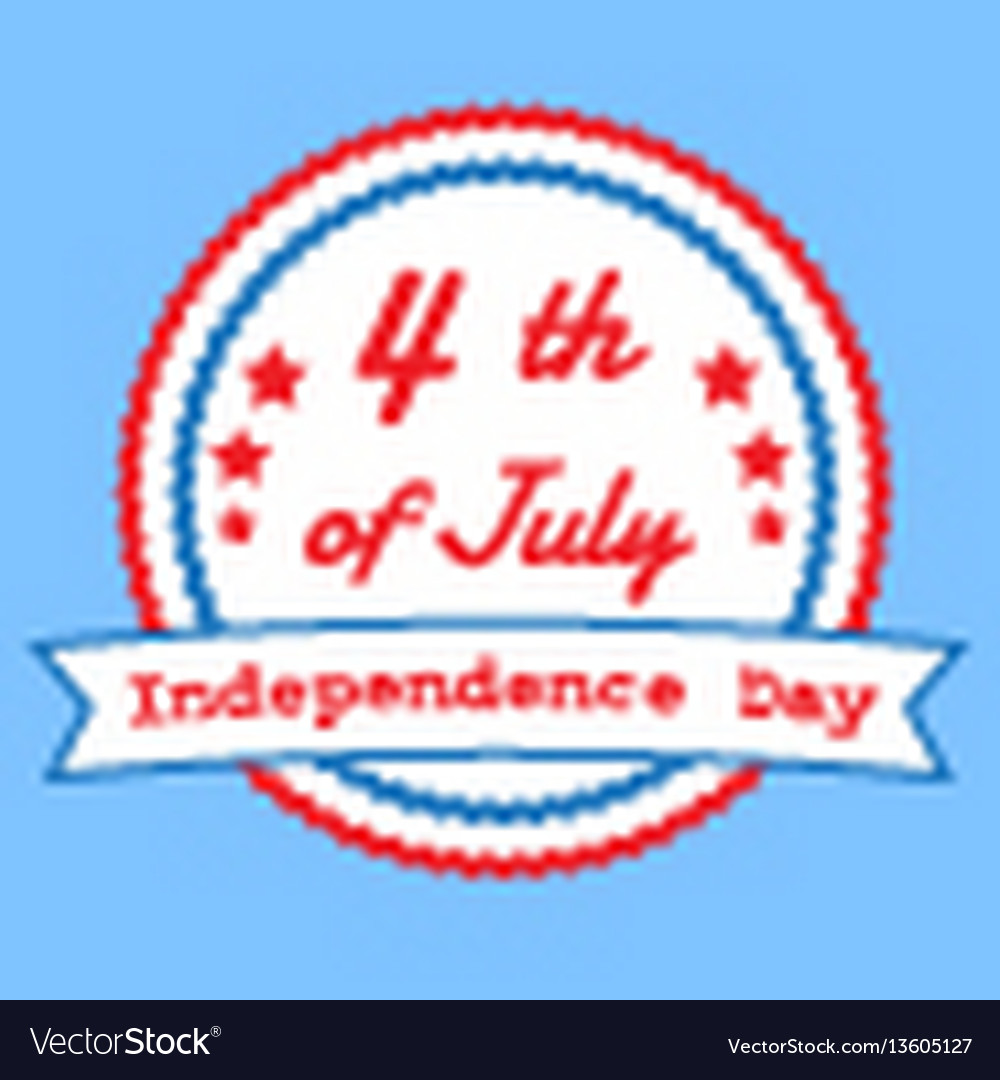 The fourth of july american independence day