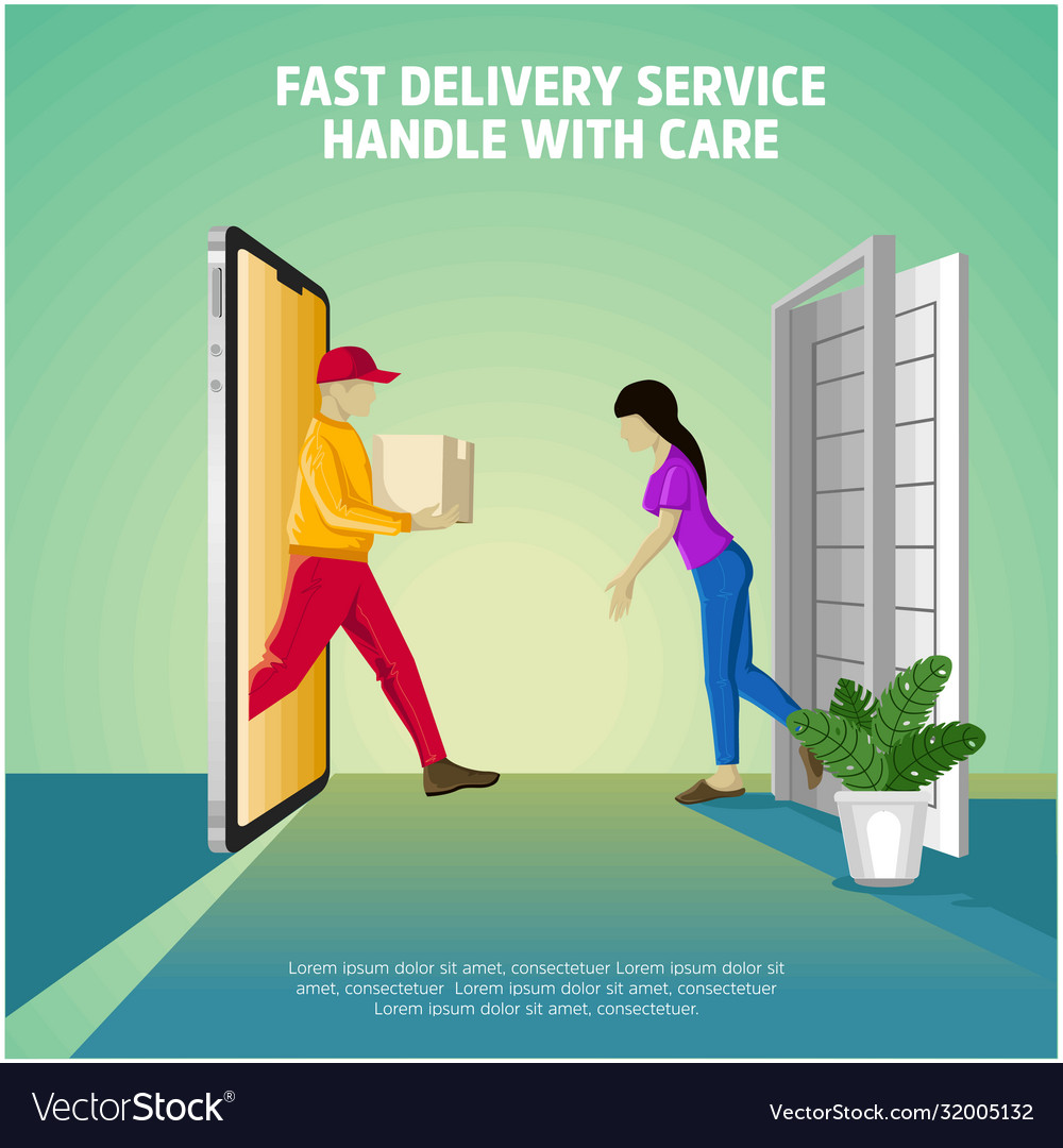 Delivery service handle with care