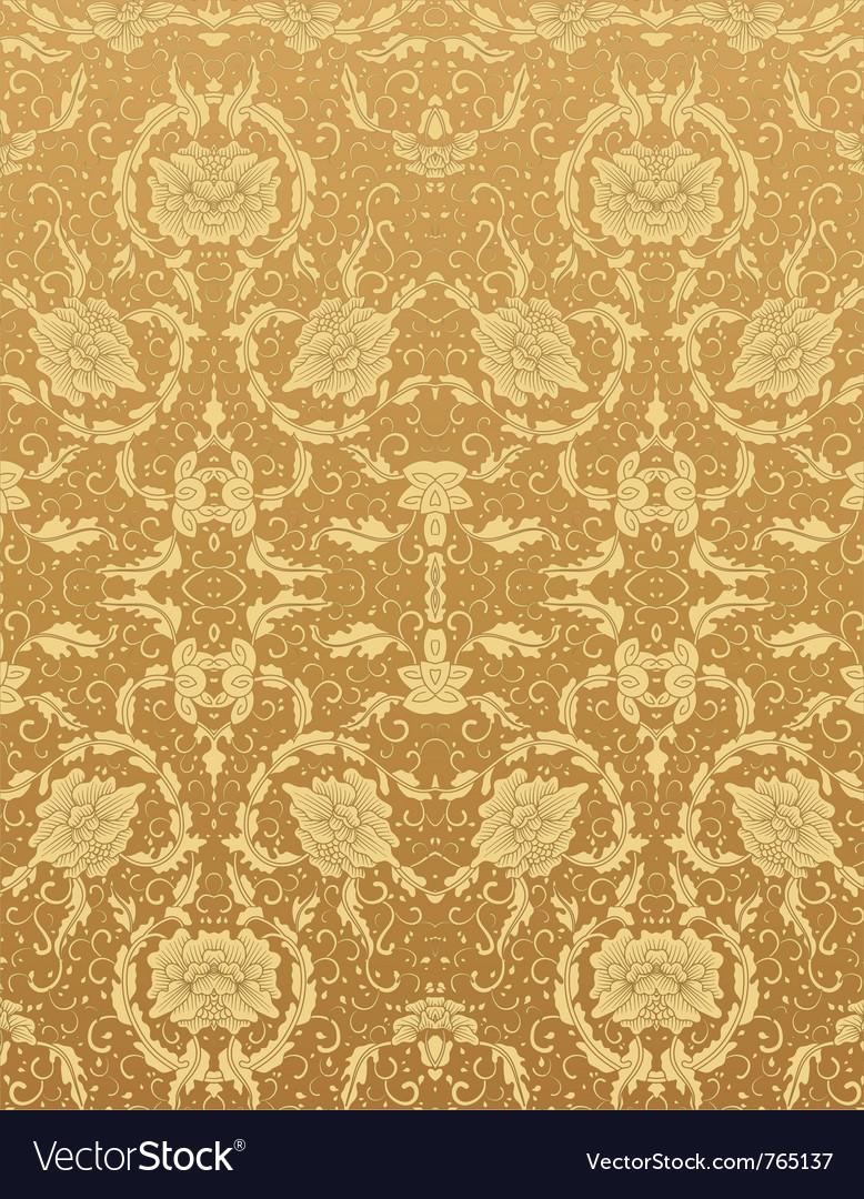 Background floral vintage