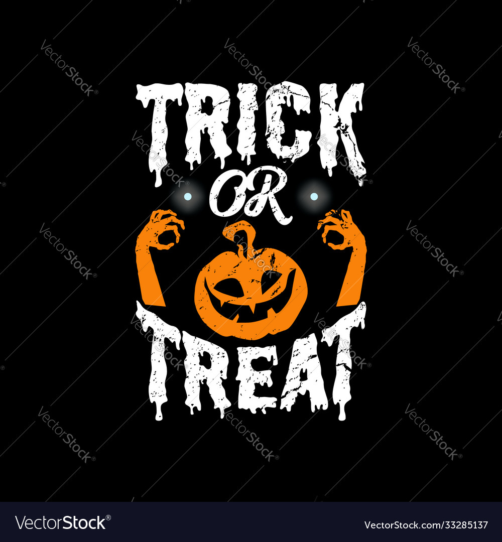 Halloween typographic quotes design