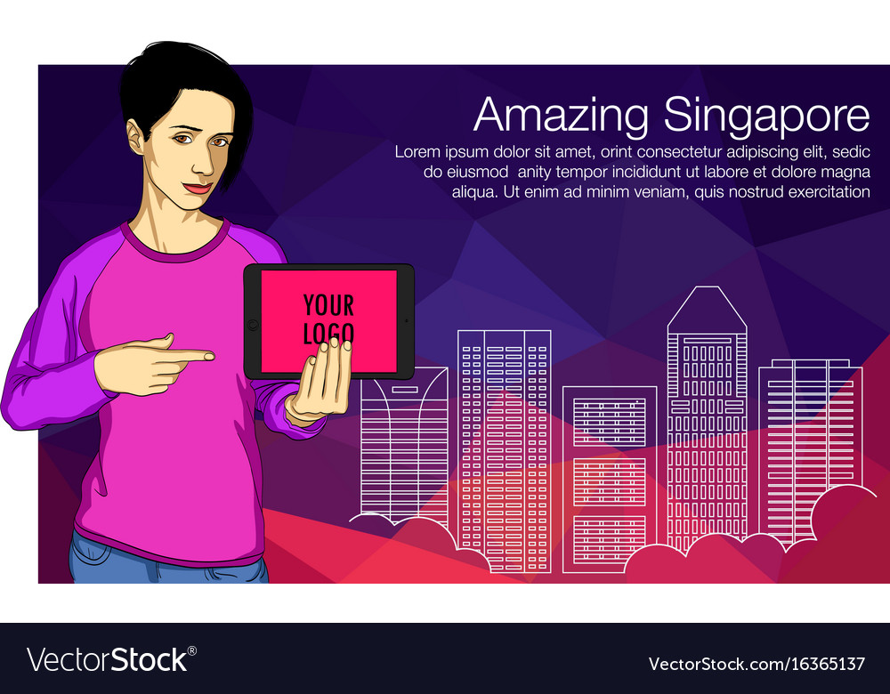 People set - business - office women on the net vector image