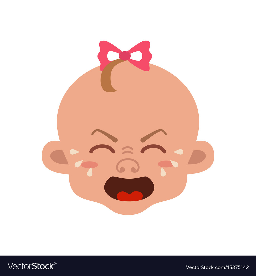 Baby facial expression