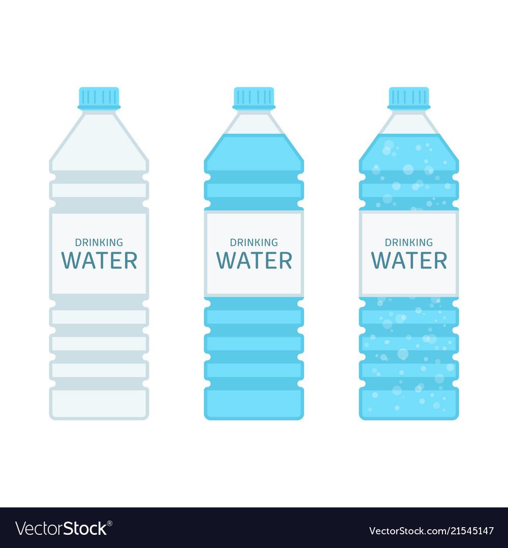 Bottle drinking water set