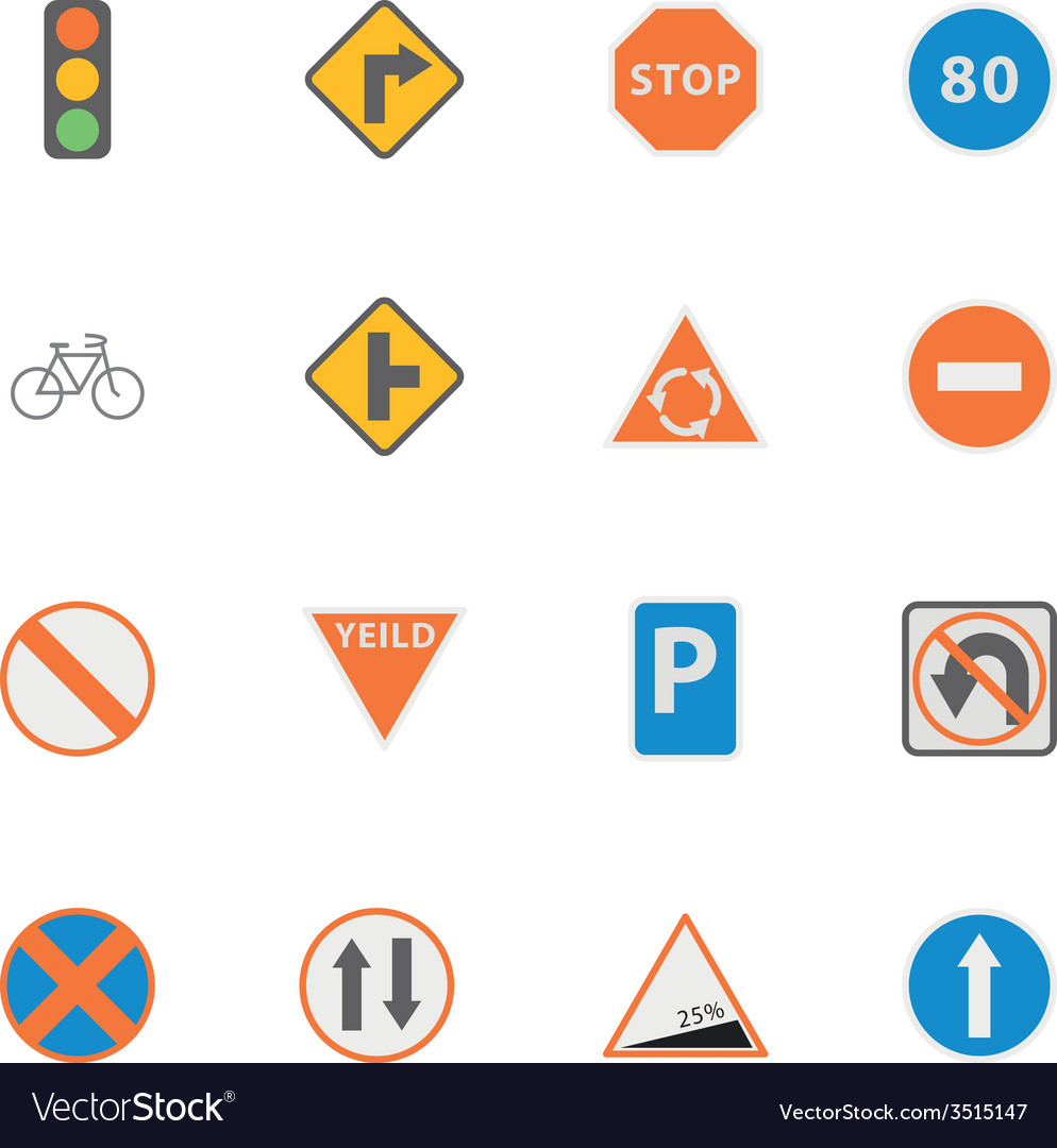 Icon Traffic Sign