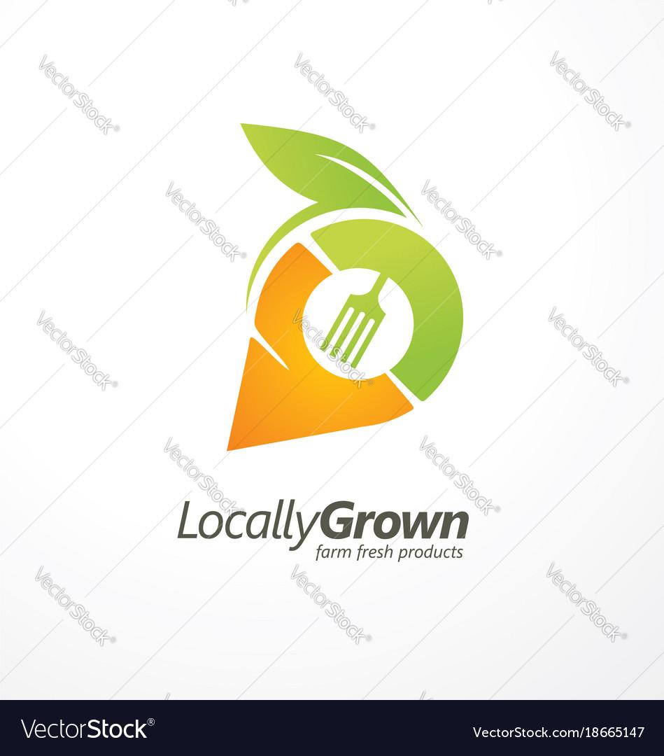 Logo design for locally grown farm fresh products