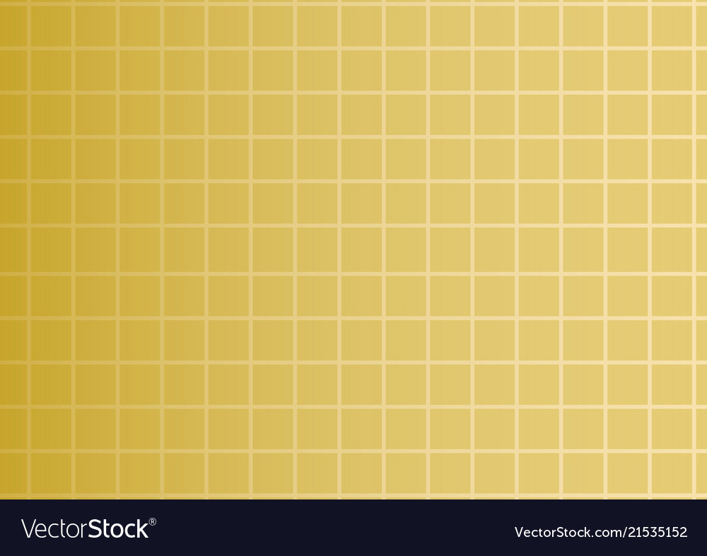 Golden gradient background with squares or
