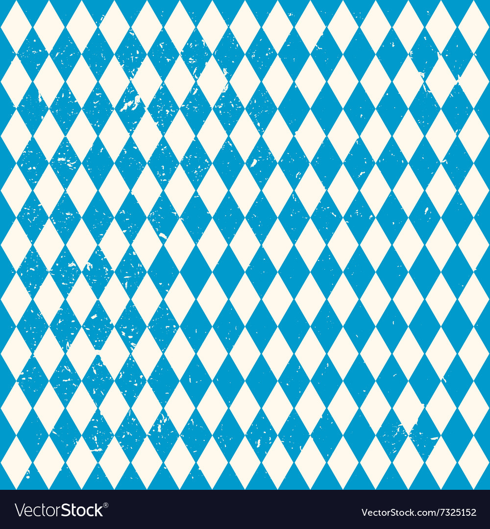 Oktoberfest seamless pattern with rhombus