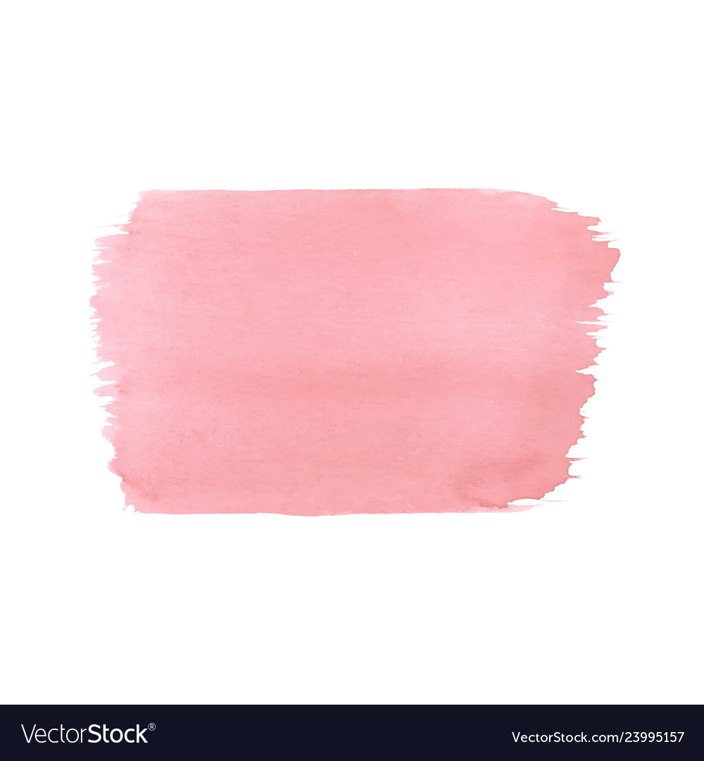 Hand painted pink watercolor texture template