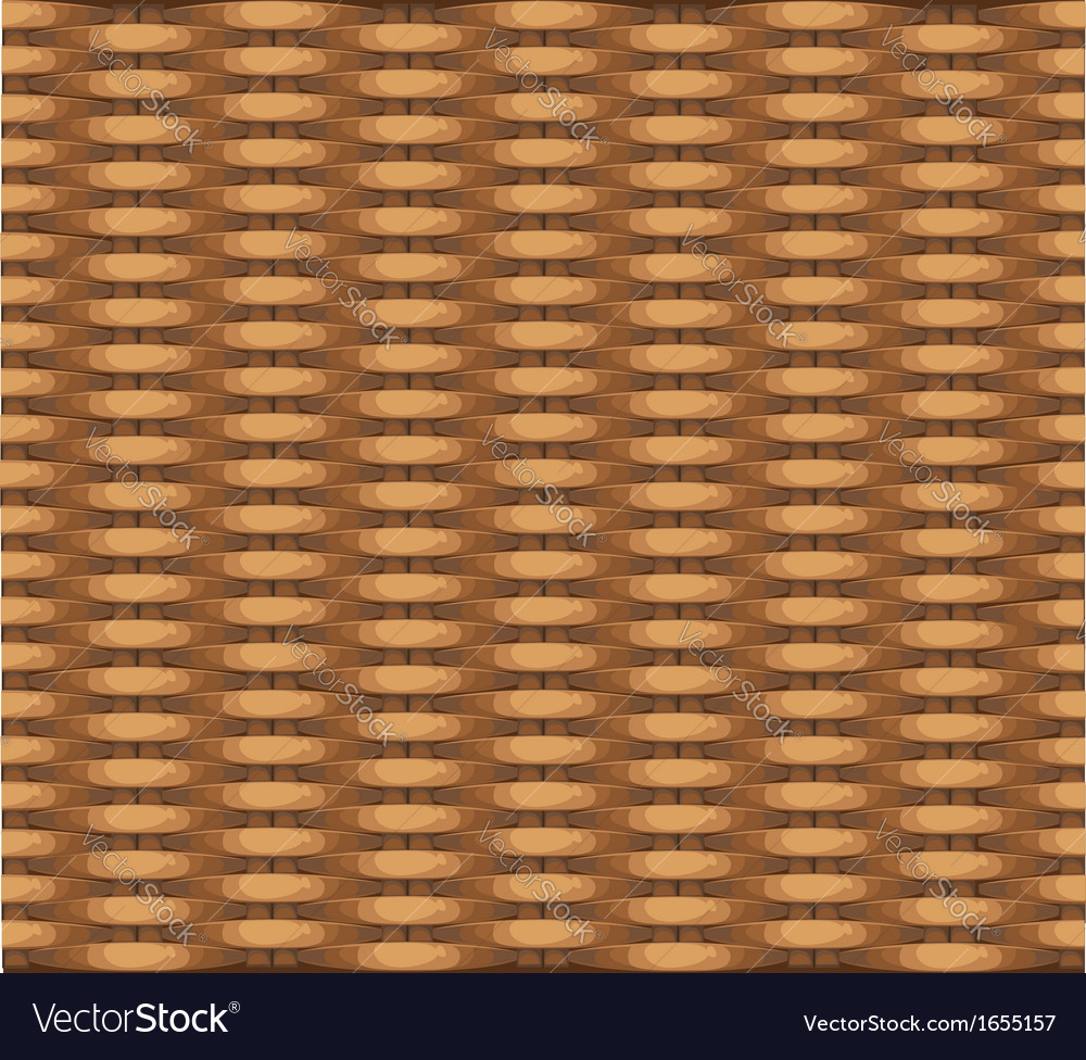 Seamless texture of wicker baskets for your design