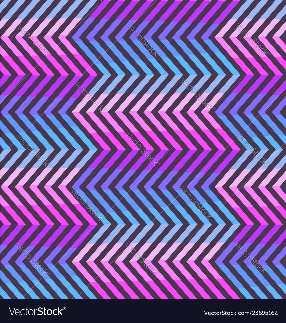 Abstract zigzag pattern in pink and violet colors