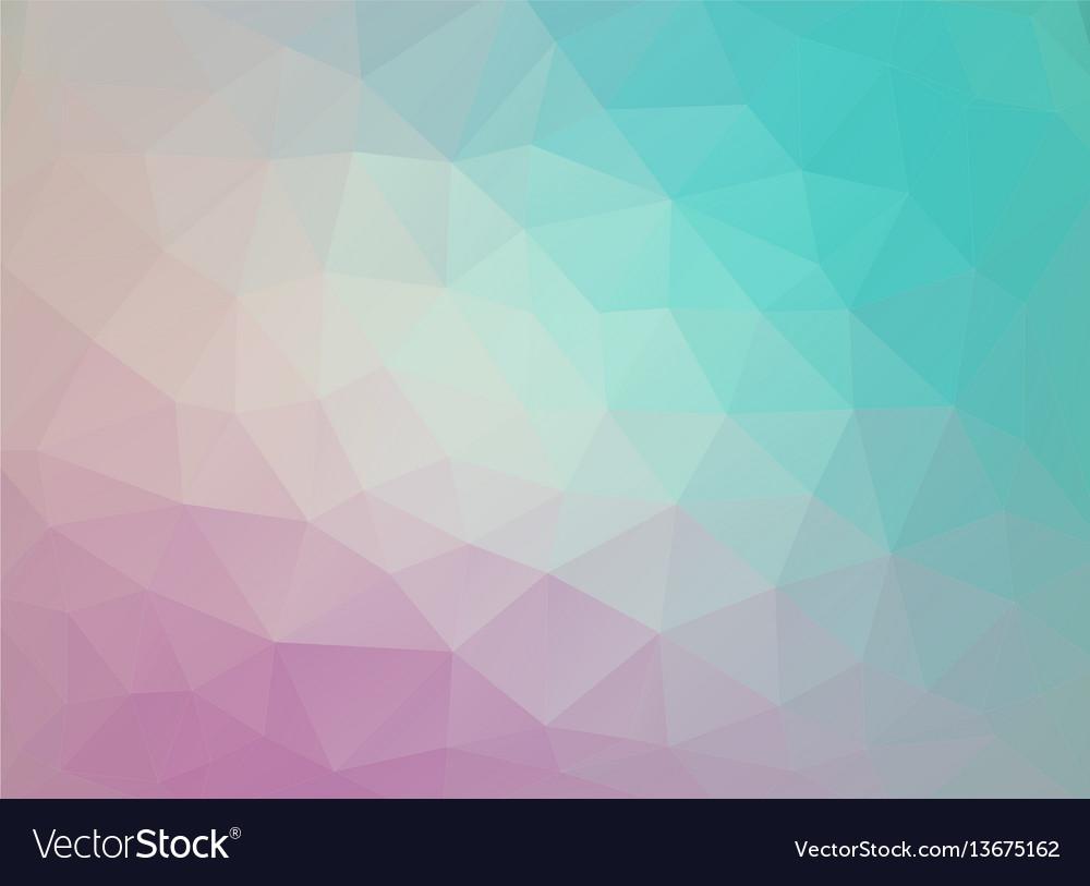Flat Duocolor Geometric Triangle Wallpaper Vector Image