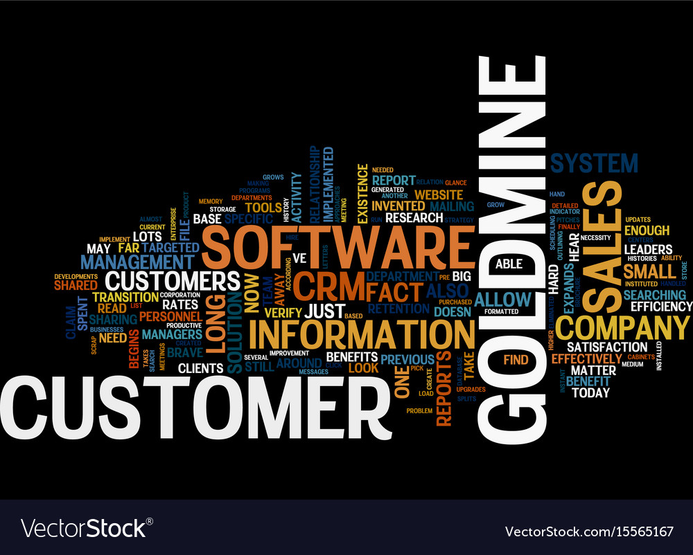 A goldmine of opportunity text word cloud concept