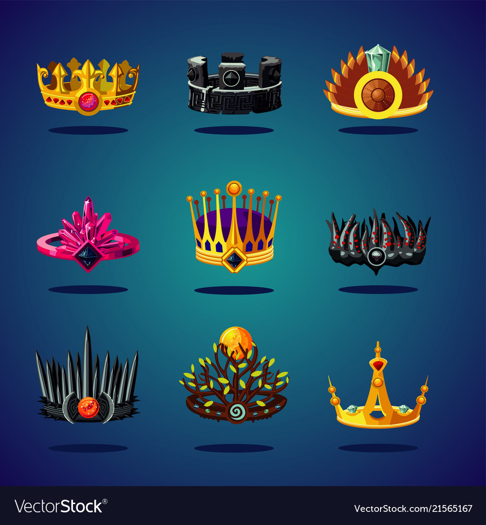 Magic crown fantasy collection king corona game