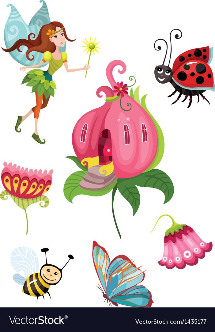 Cute fairy set