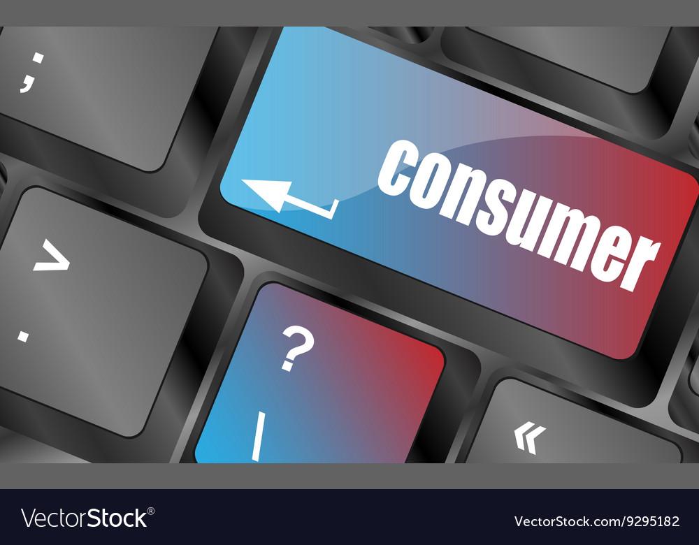Consumer message on enter key of keyboard keys