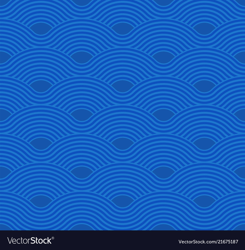 Abstract wave pattern blue ripple background