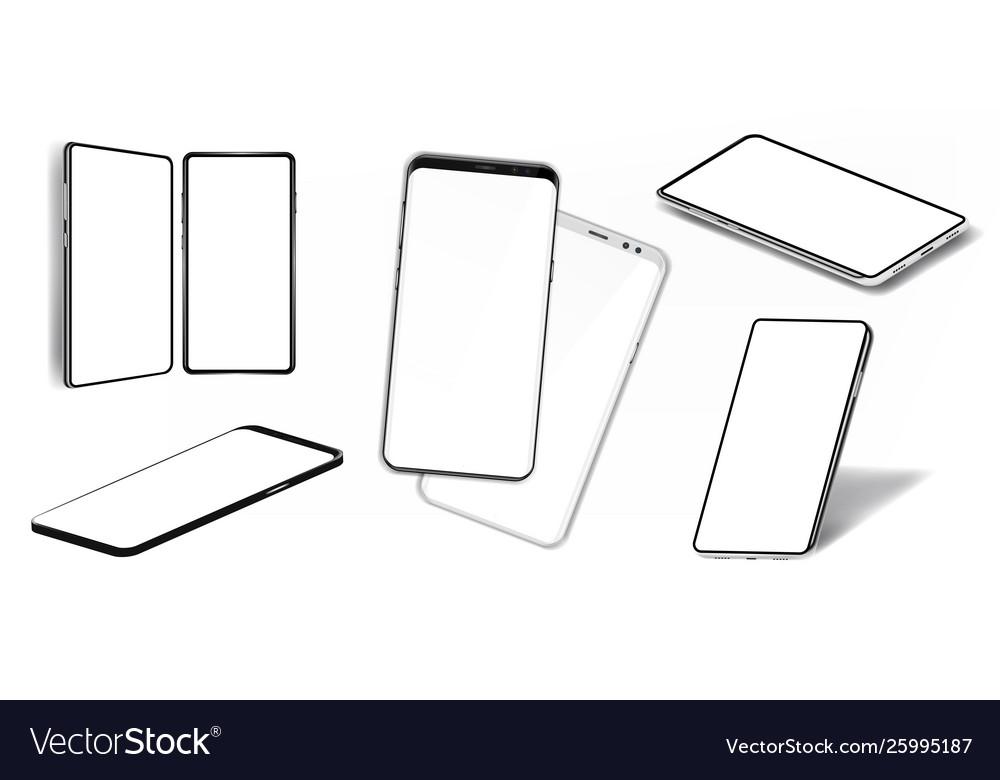 Smartphones mockups collection