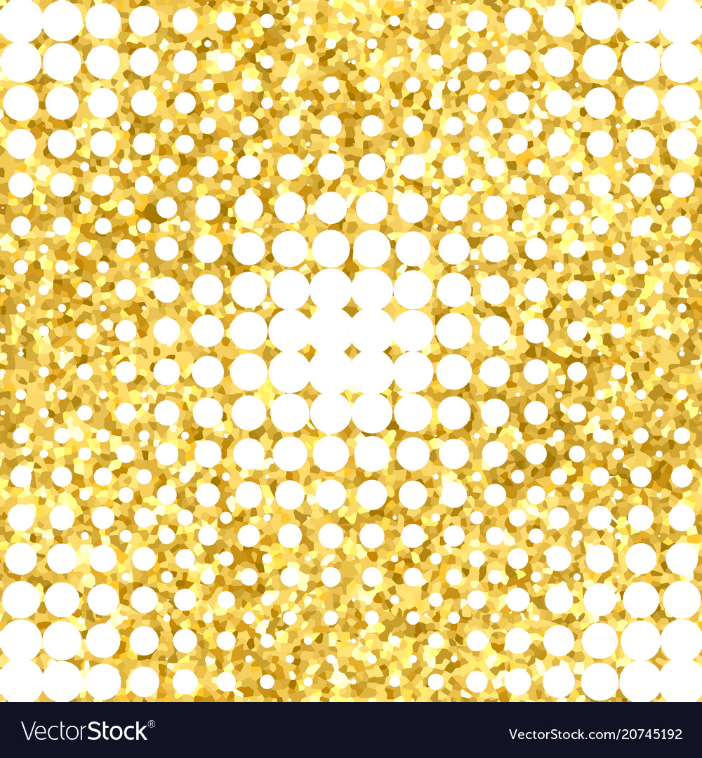 Abstract geometric seamless pattern with gold