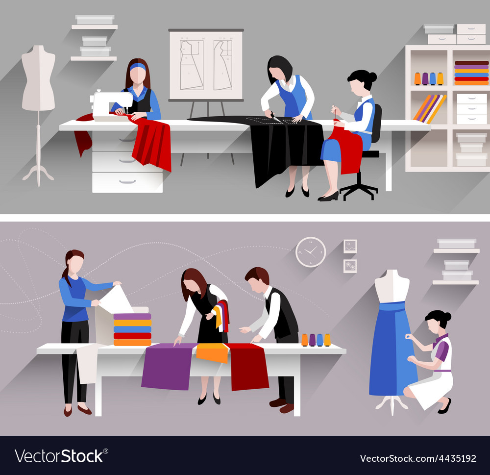 Sewing Studio Design Template