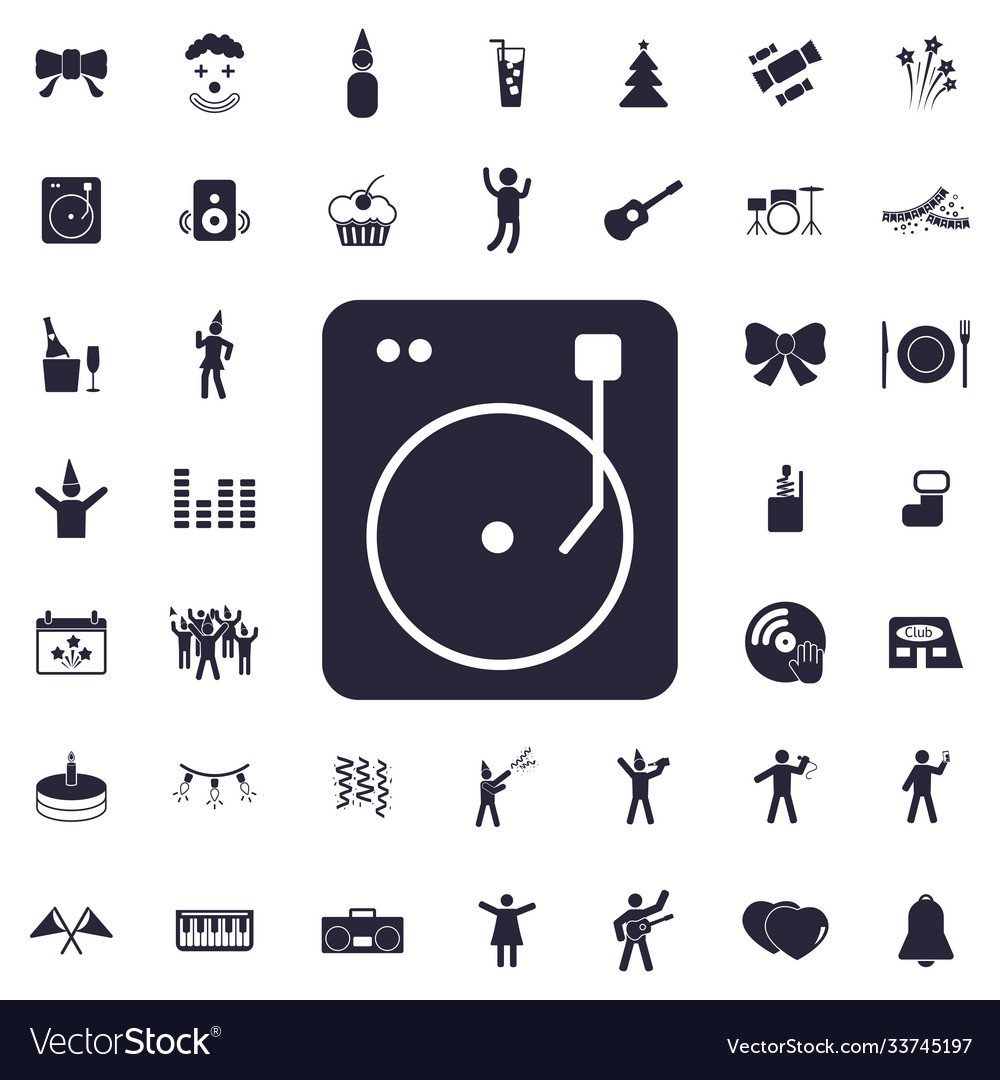 Music speaker icon