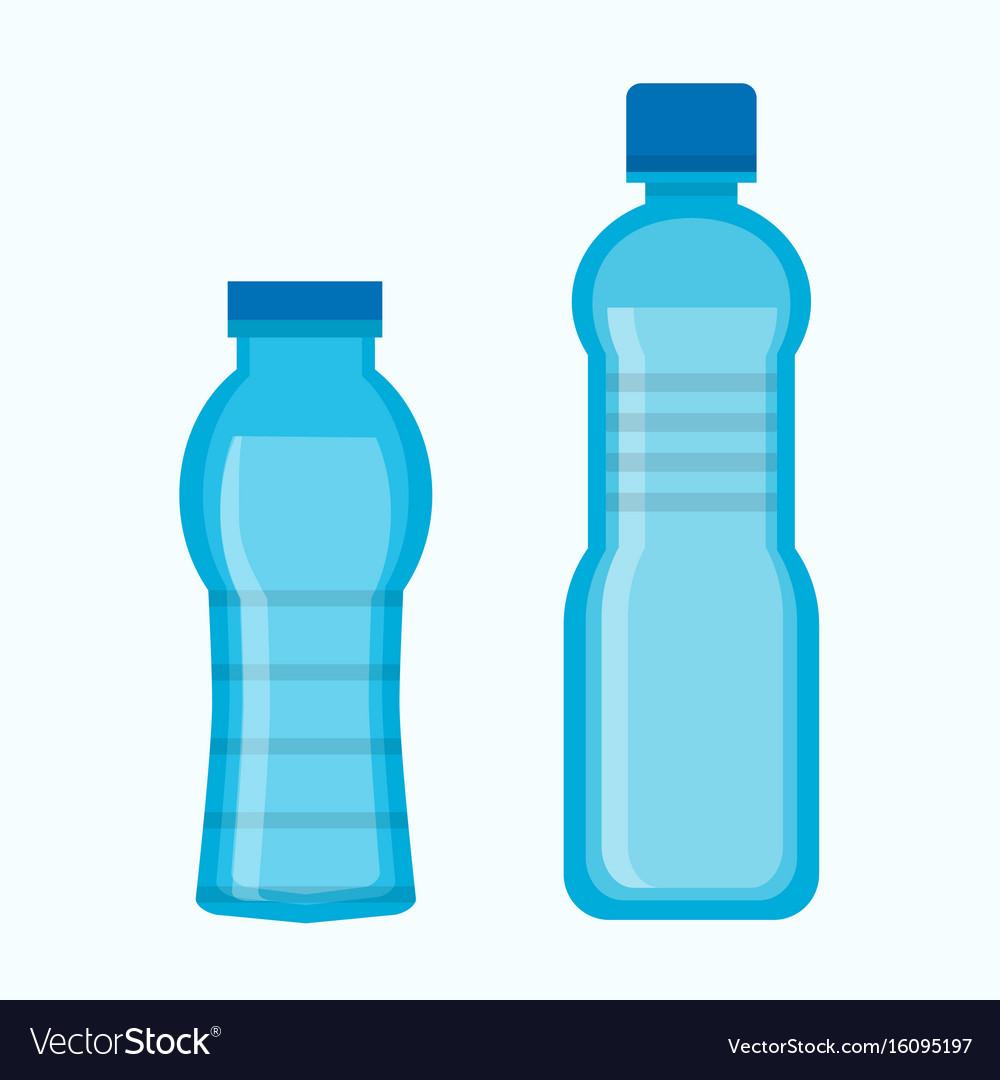 Two water bottles