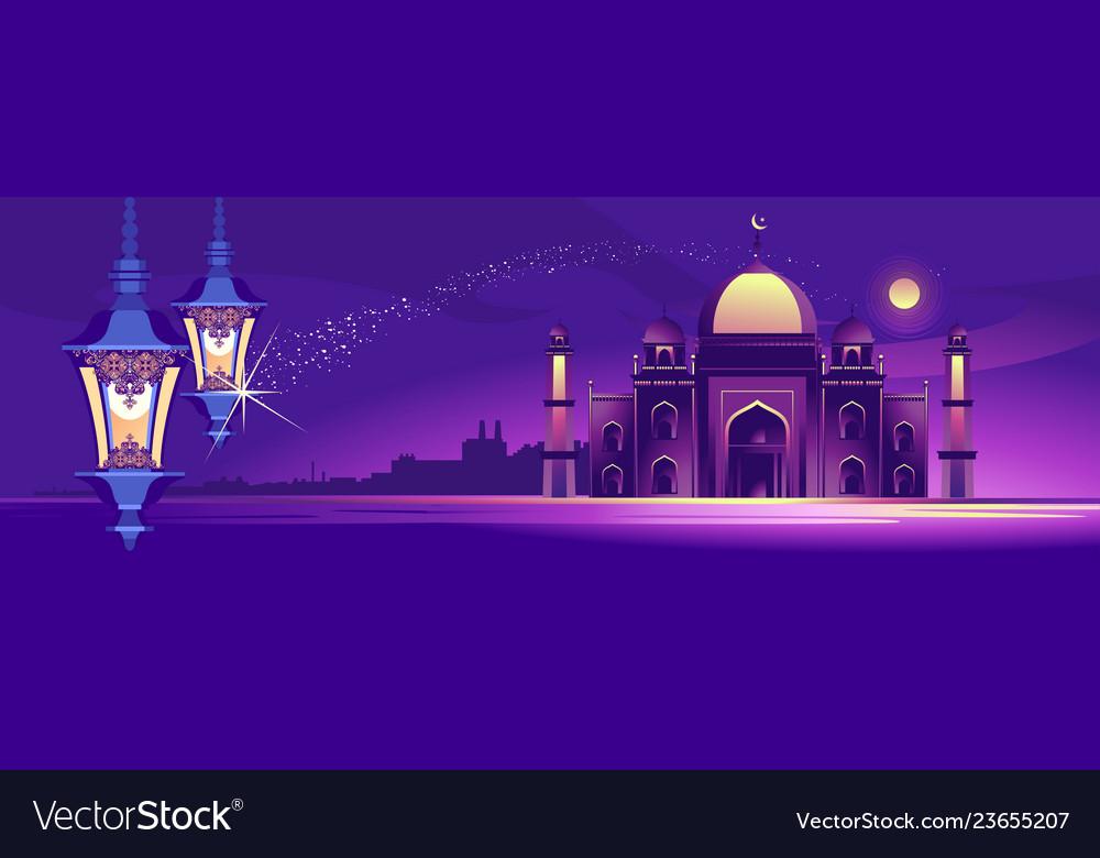 Arab night banner