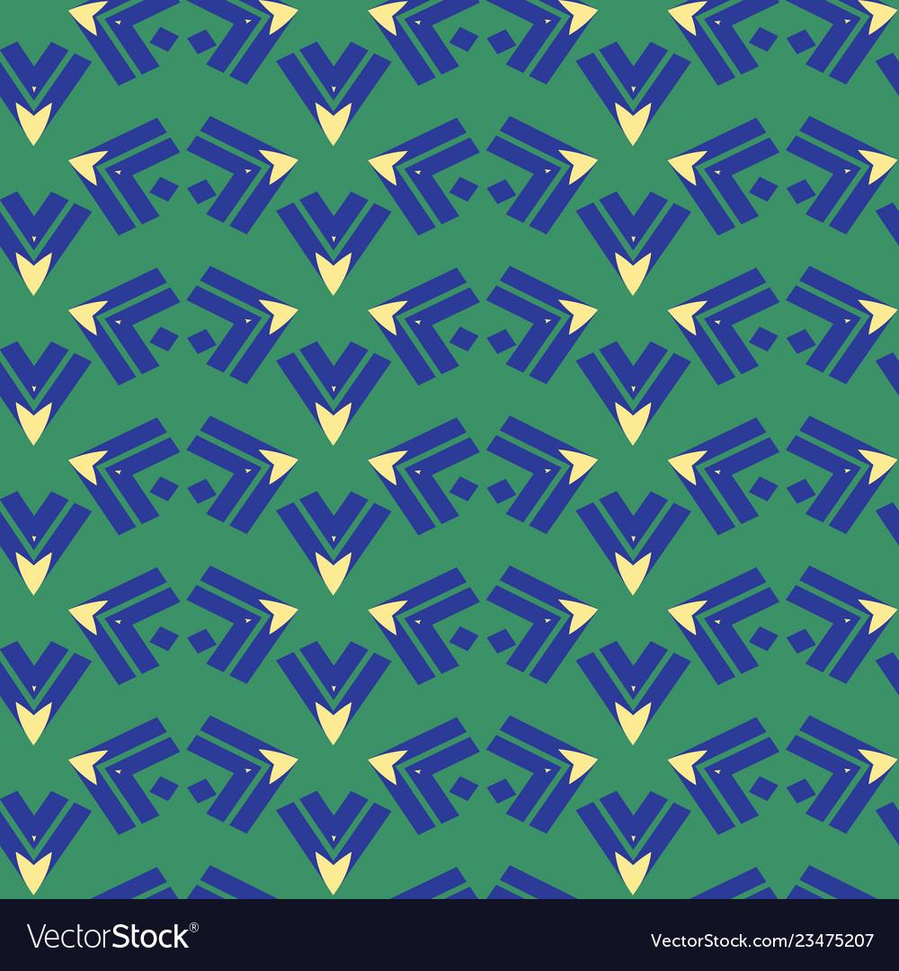 Arrow triangle stripes seamless pattern