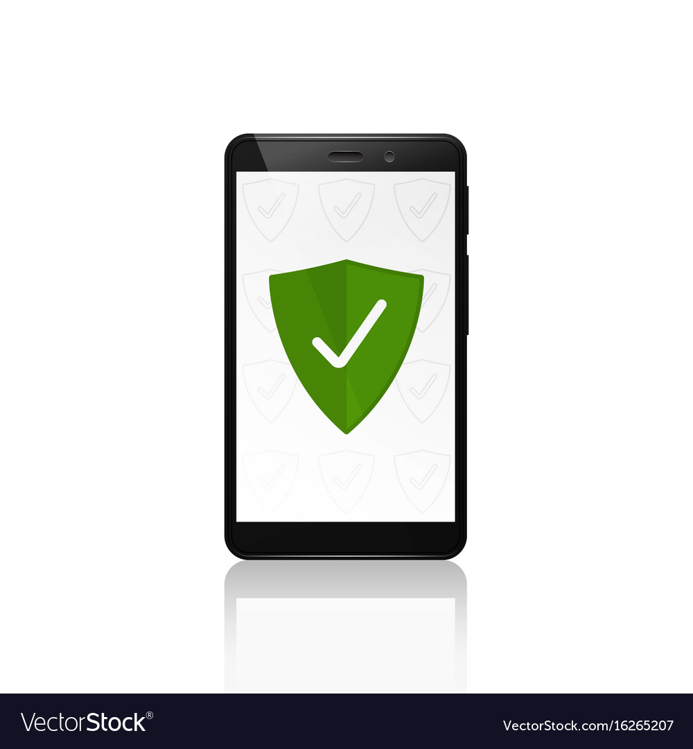Mobile phone security shield protection design