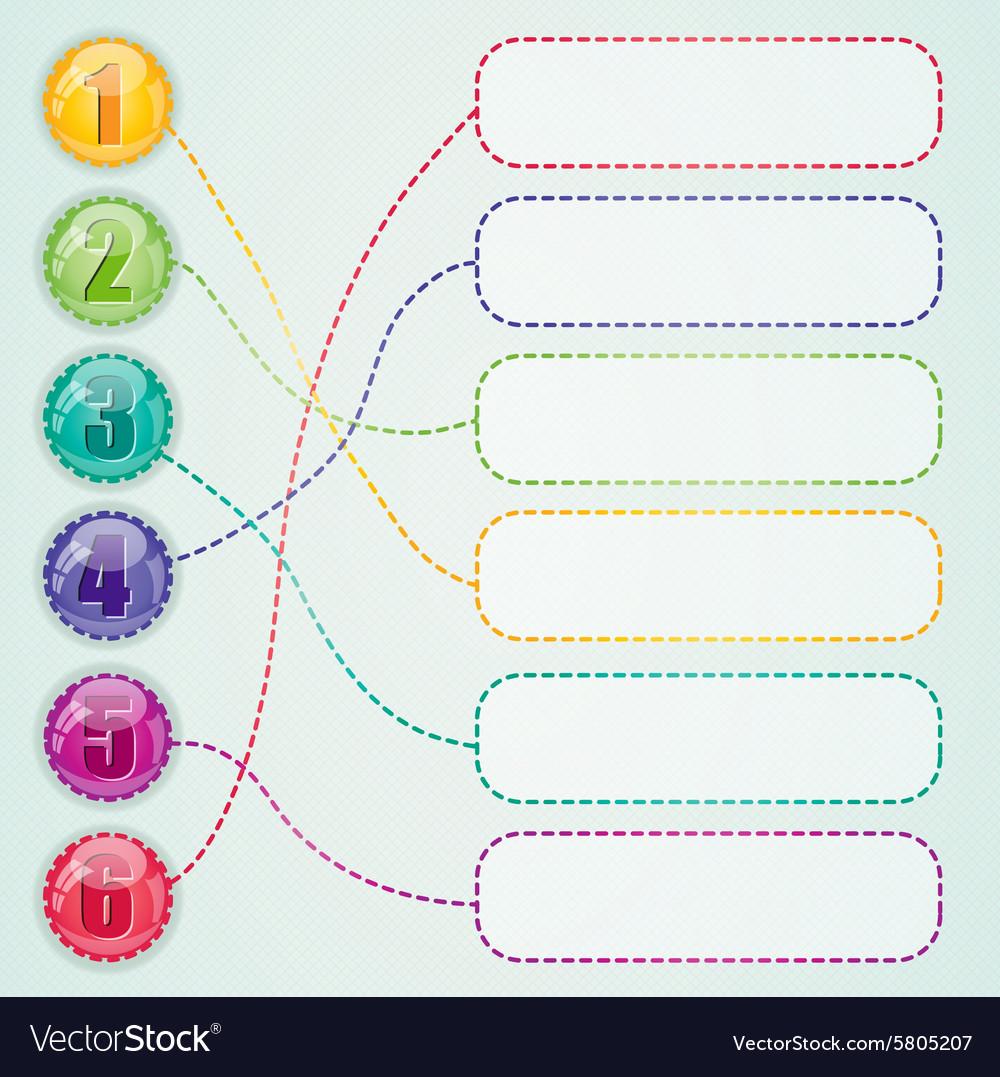 Web desigs elements vector image